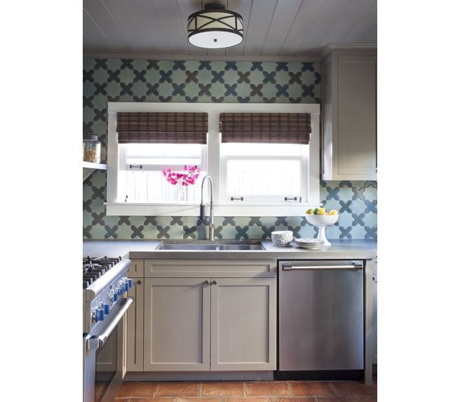 What Does A Kitchen Designer Do: What Do You Think About That Bold Print In This Neutral