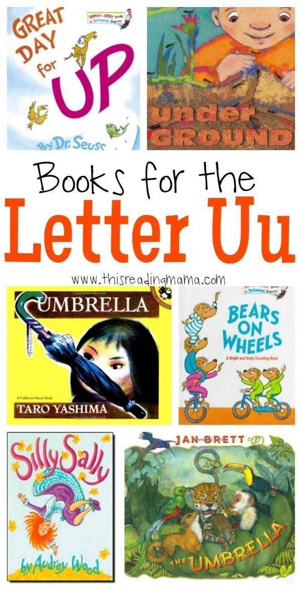 Books for the Letter U | Preschool books, Lettering ...