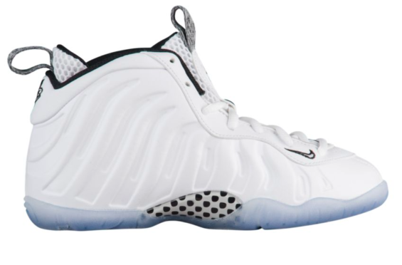 """66f59215c8c Release Date  Nike Little Posite One White Ice The """"Hey Penny"""" Foamposites  just"""