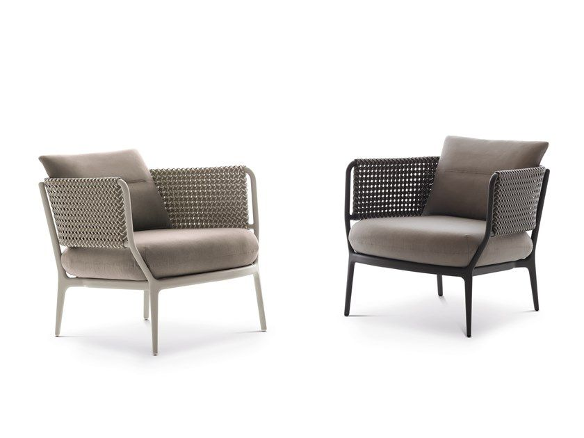 Download The Catalogue And Request Prices Of Bellmonde By Dedon Garden Armchair With Armrests Design Henrik With Images Furniture Patio Lounge Furniture Outdoor Furniture
