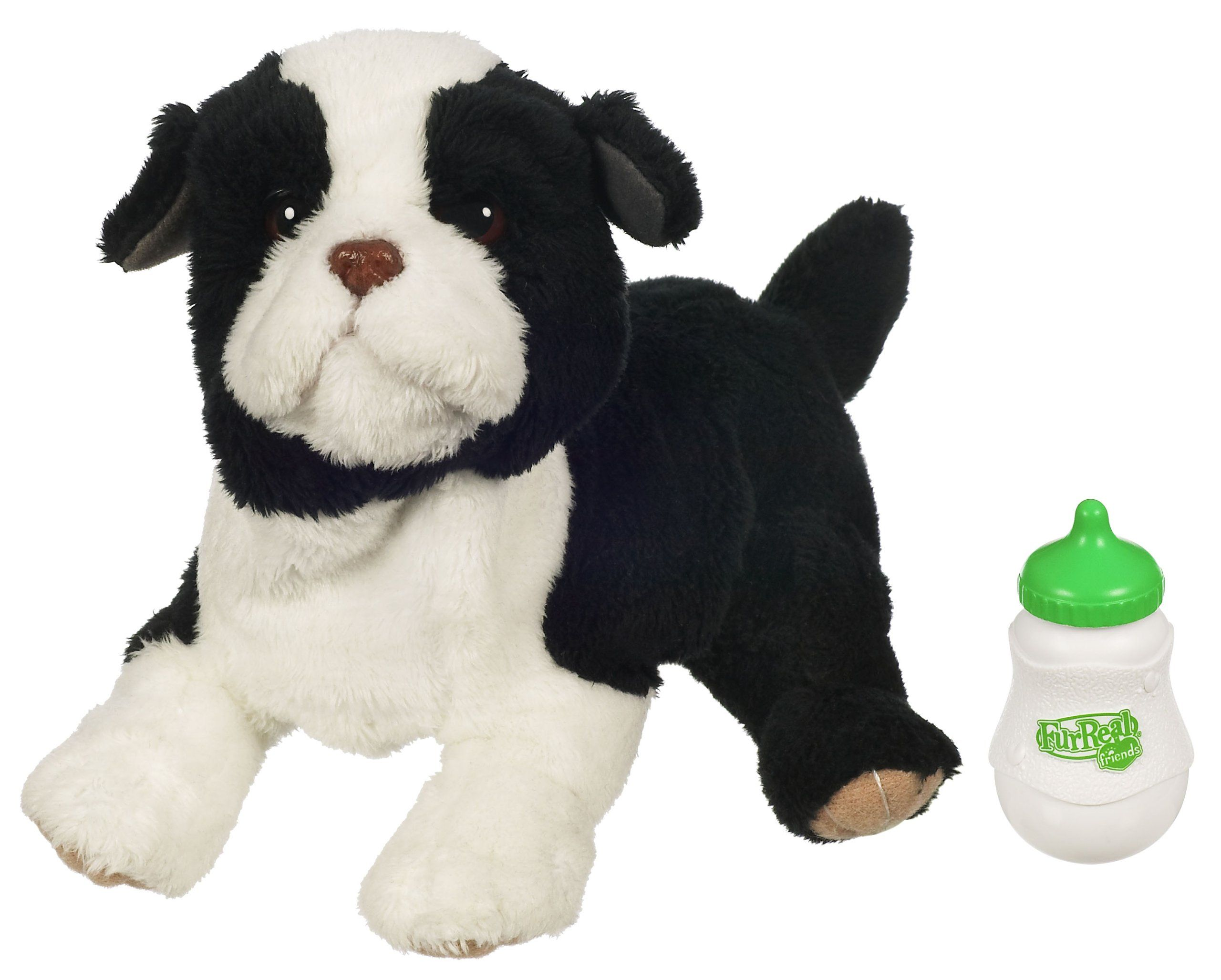 Furreal Newborn Border Collie Puppy The Puppy Barks And Wags His Tail When You Pet His Back Puppie To Fur Real Friends Collie Puppies Border Collie Puppies