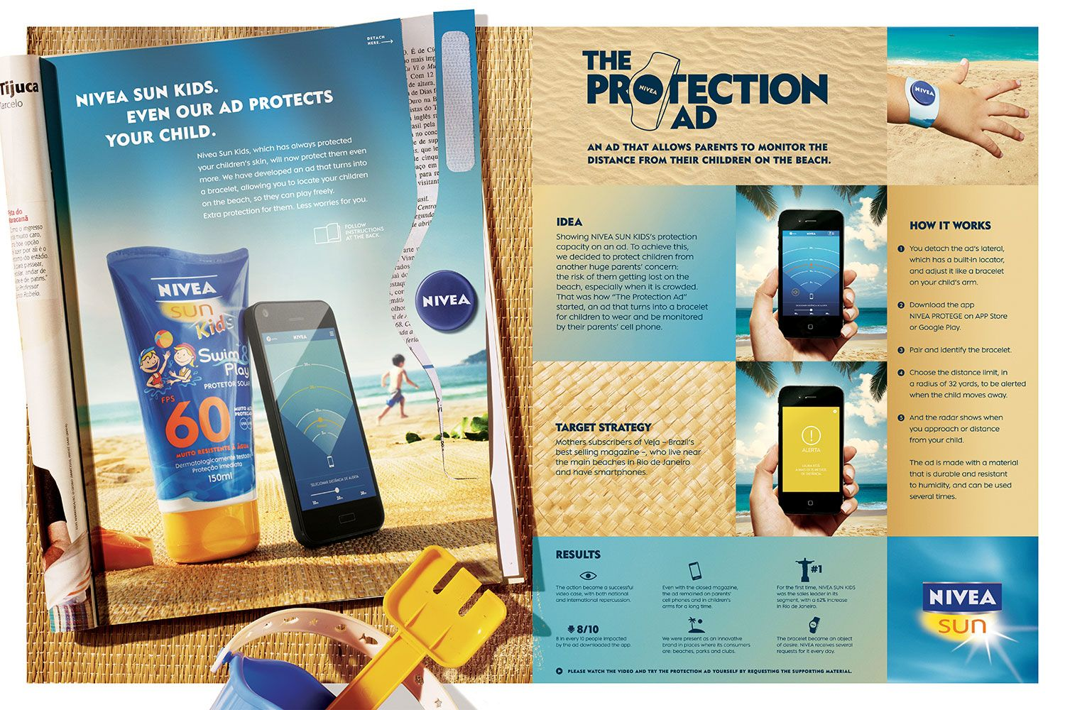 a nivea sun kids protection ad boards it was released in the jan skin care advertising campaign protection ad