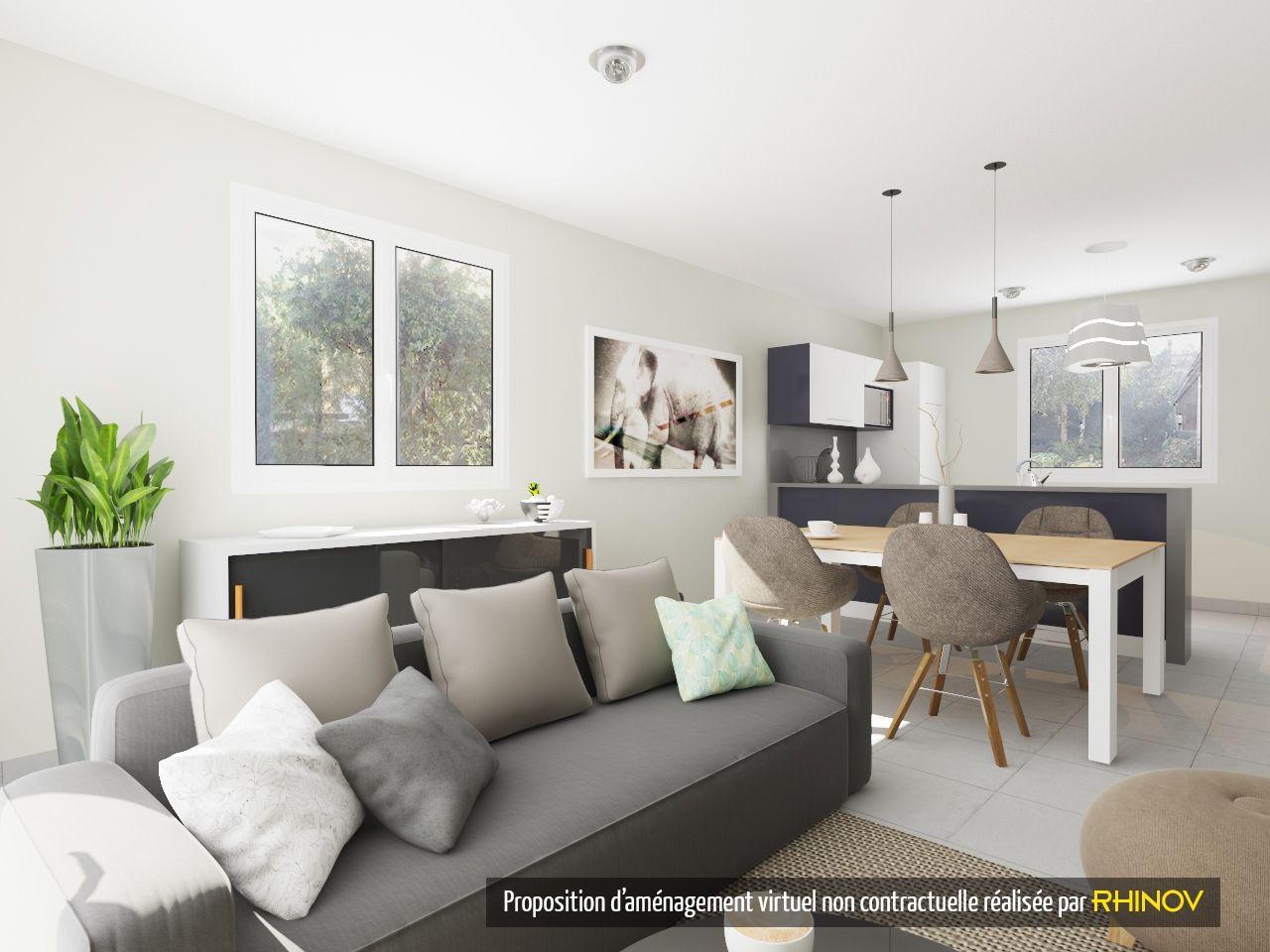 Visuel 3d Rhinov Salon Salle A Manger Chic Cosy Detente Decoration Interieure Idees Pour La Maison Decoration Maison