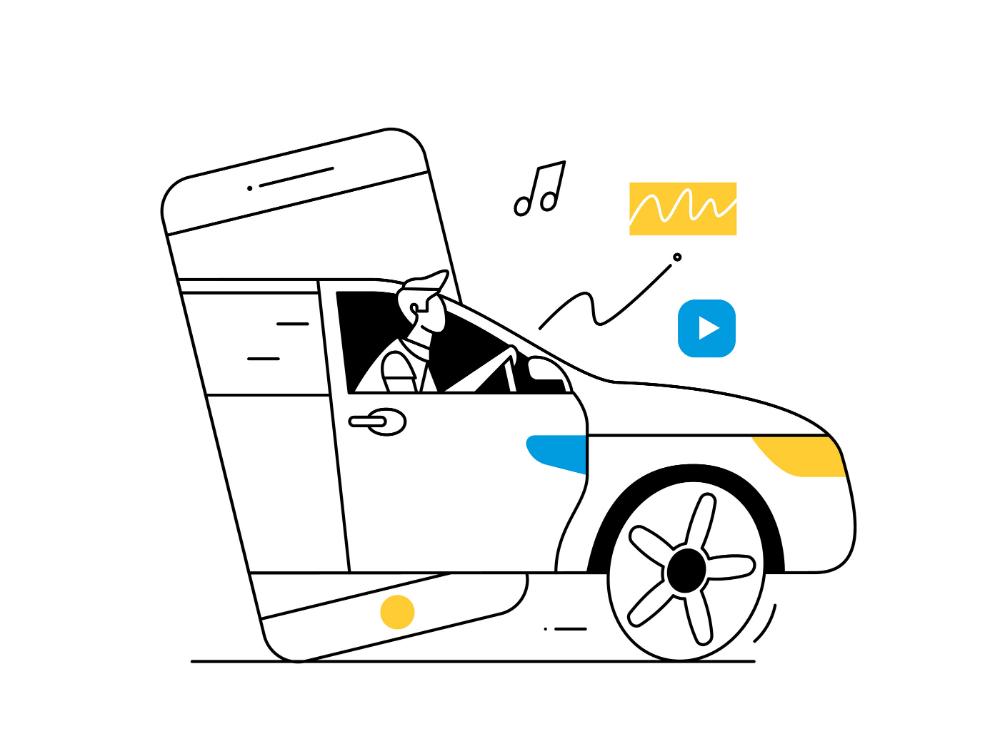 Renault on Behance in 2020 Renault, Illustration