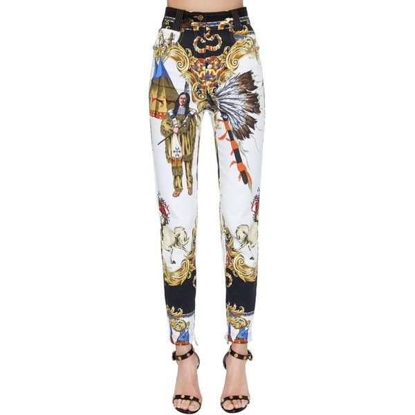 Native American trousers - Multicolour Versace GBD0po