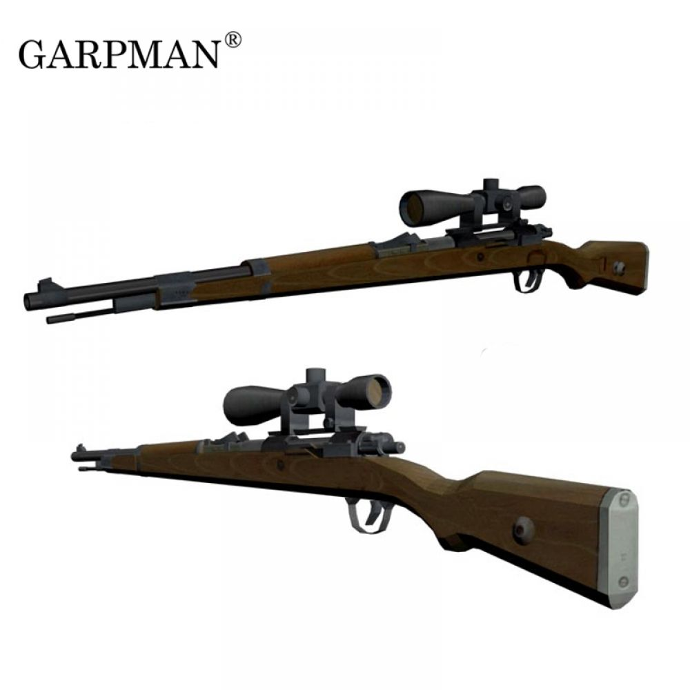 1 1 Germany Tactical 98k Sniper 3d Paper Model Manually L Papermodel Toy Https Www Gyoby Com 11 Germany Tactical 9 Paper Models Card Model Model Building