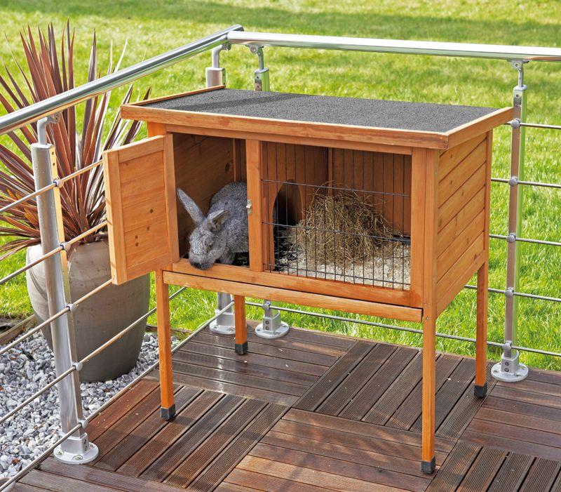 Clapier pour balcon ou terrasse jardins clapiers meuble bois et poulailler - Meuble de balcon ...