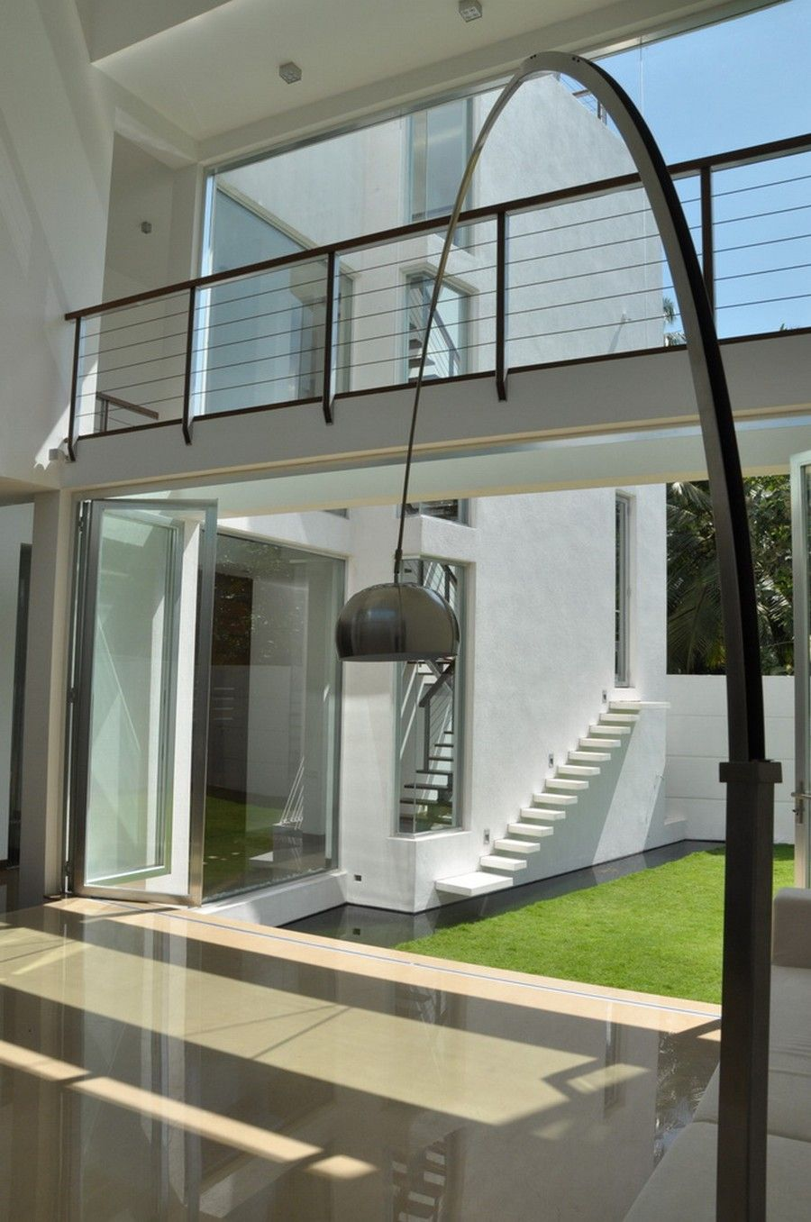 Modern residence contemporary family home in sri lanka paying tribute to minimalism also rh co pinterest