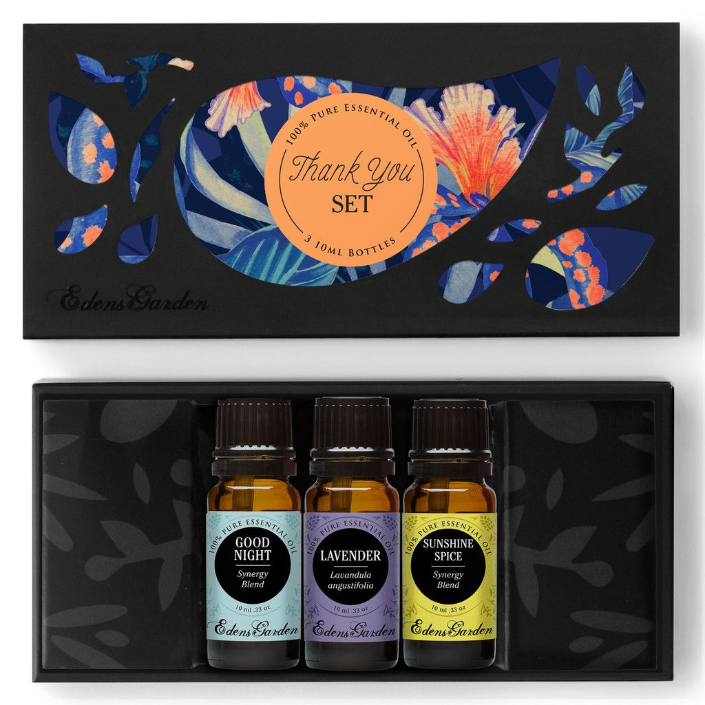 Thank You Set Essential oil set, Therapeutic grade