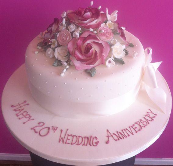 Happy 20th Anniversary Happy 20th Anniversary Anniversary Cake