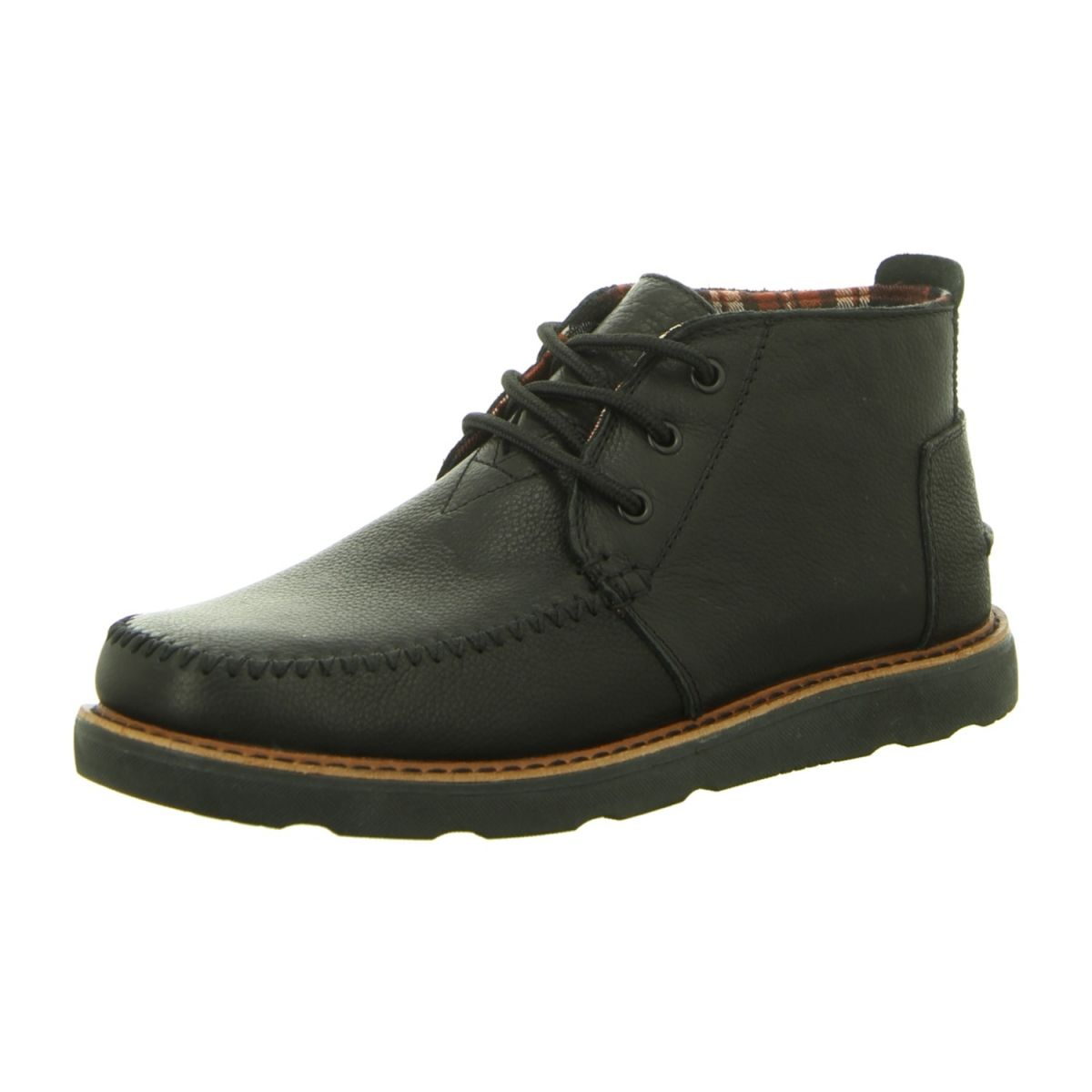 Neu Toms Stiefeletten Schnürer Chukkaboot 10006537 Black Schuhe Damen Schuhe Stiefeletten