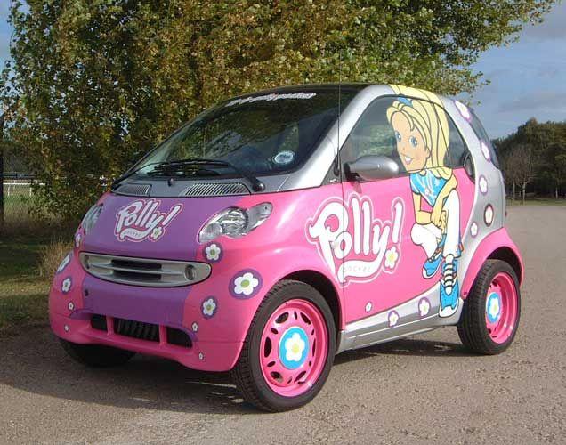 2 Jpg 636 500 Y Car Polly Pocket Pink Cars