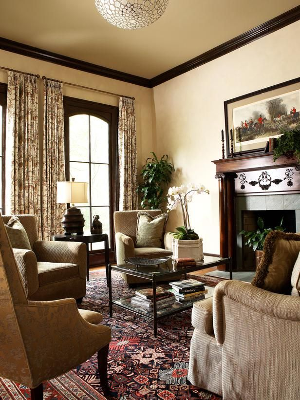 outstanding traditional formal living rooms   Traditional Living Rooms from Shazalynn Cavin-Winfrey ...