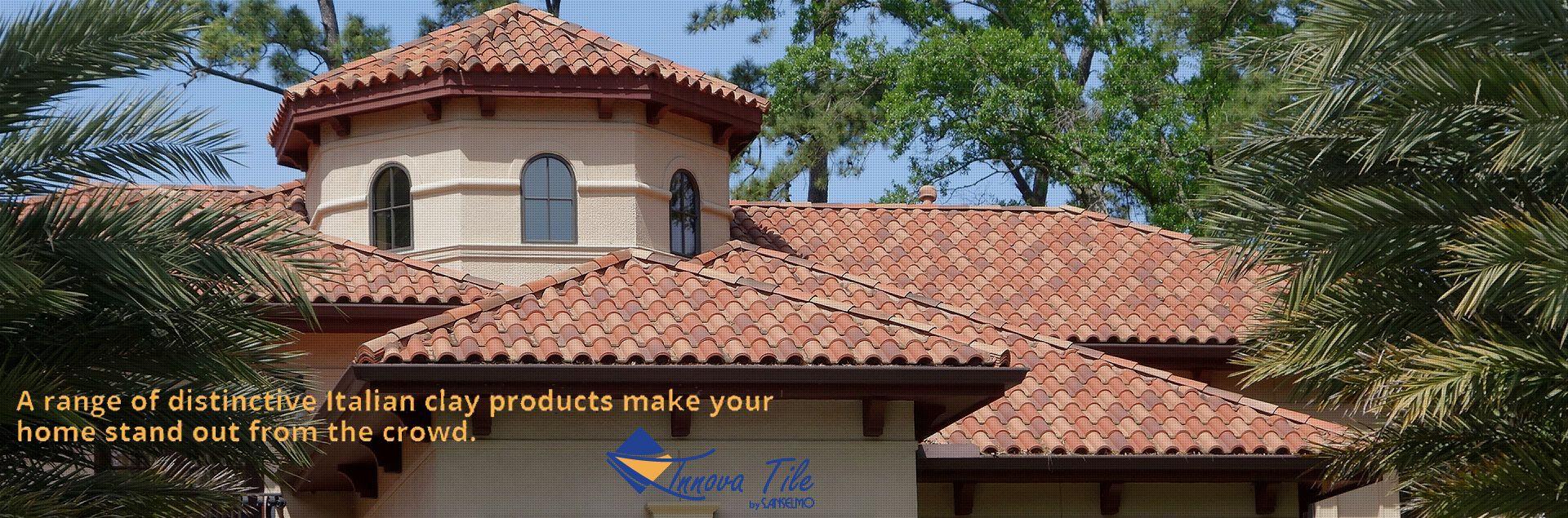 Innova Tile Provides Clay Roof Tiles In Houston Austin Dallas San Antonio College Station Fort Worth El Paso Arlin Clay Roof Tiles Clay Roofs Roof Tiles