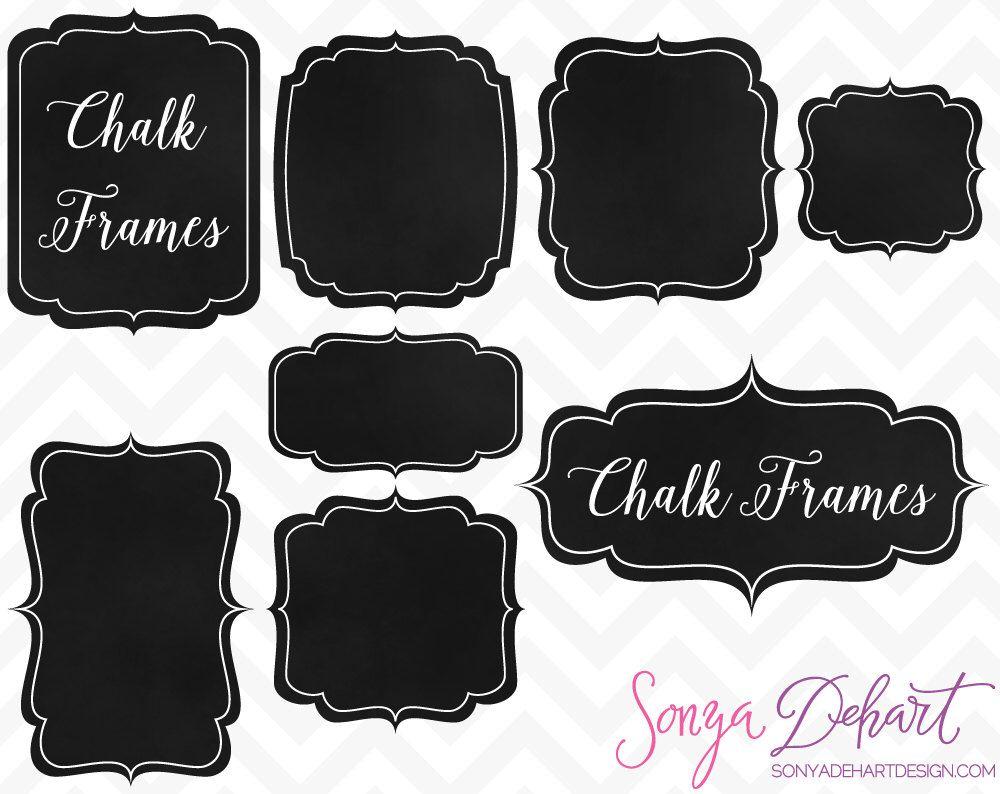 chalkboard labels, chalkboard, chalkboard clipart, chalkboard frames