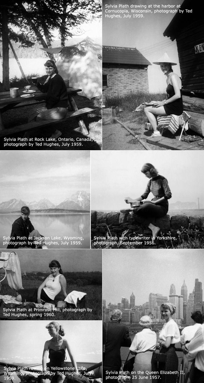 Sylvia Plath (Photo Source: Sophia Smith College)  | Writers