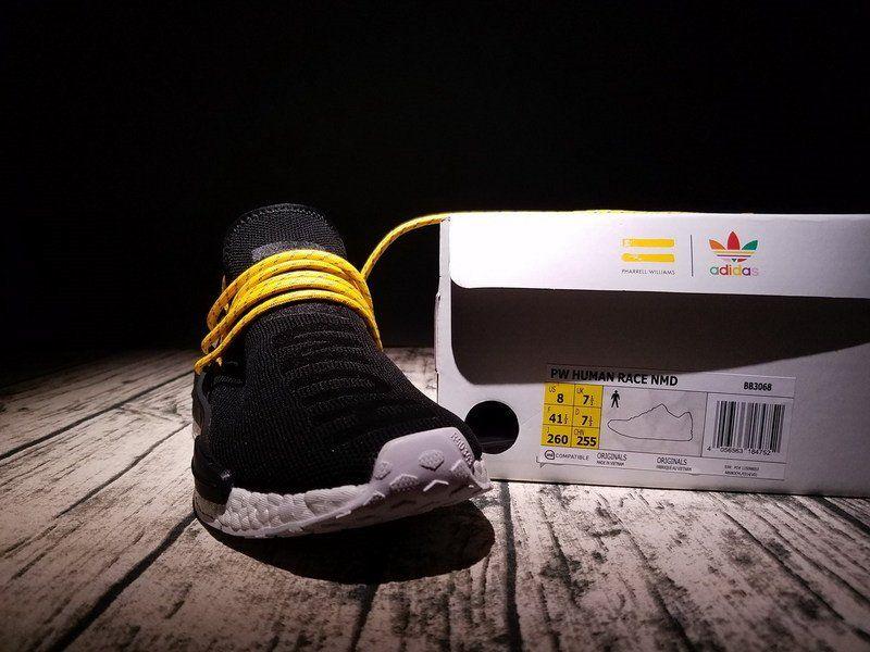 Adidas nmd pharrell hu specie umana bb3068 scarpe nere