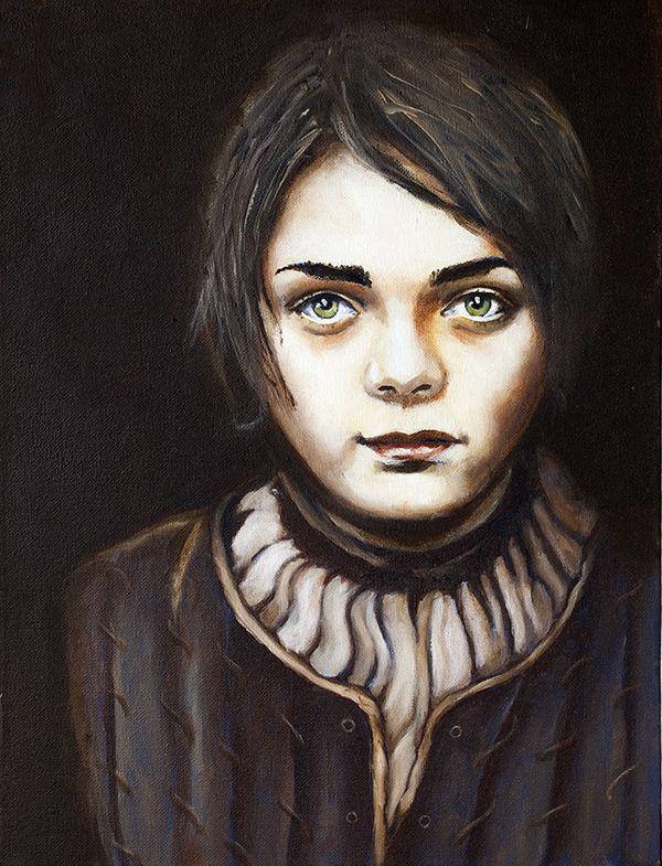 Arya in oils