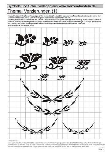 schablonen kostenlos zum kerzen gestalten templates pinterest kerzen gestalten schablone. Black Bedroom Furniture Sets. Home Design Ideas
