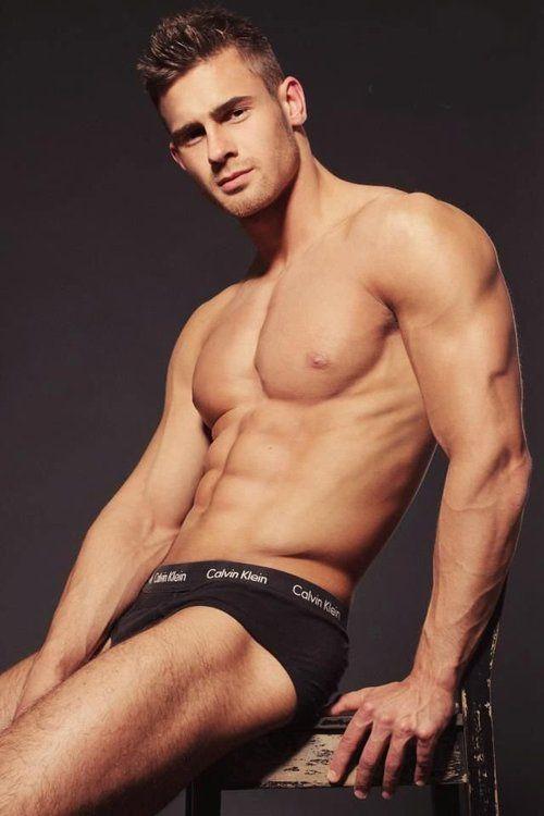 heiße sexy Jungs in Unterwäsche