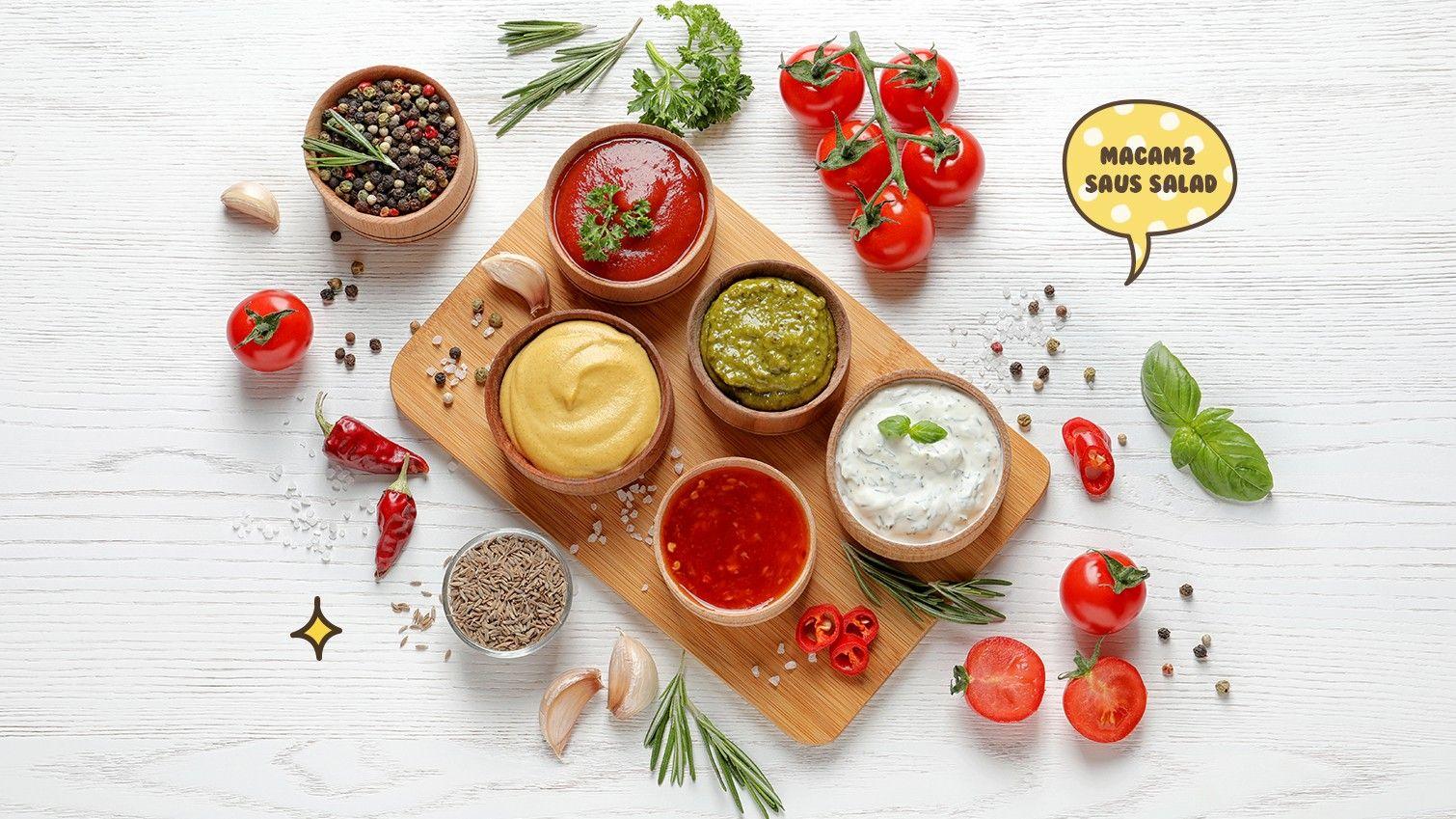 Placeholder Saus Salad Salad Bar Vinaigrette
