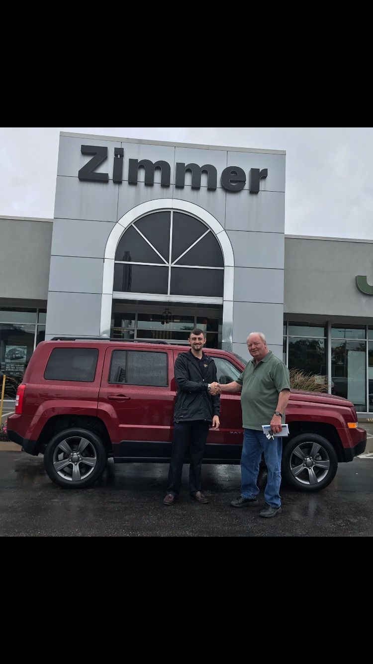 Congratulations To Donald Tucker On Buying His New To Him 2015 Jeep Patriot Donald Was Looking At Our Outstanding U Chrysler Dodge Jeep Used Suv Jeep Dealer