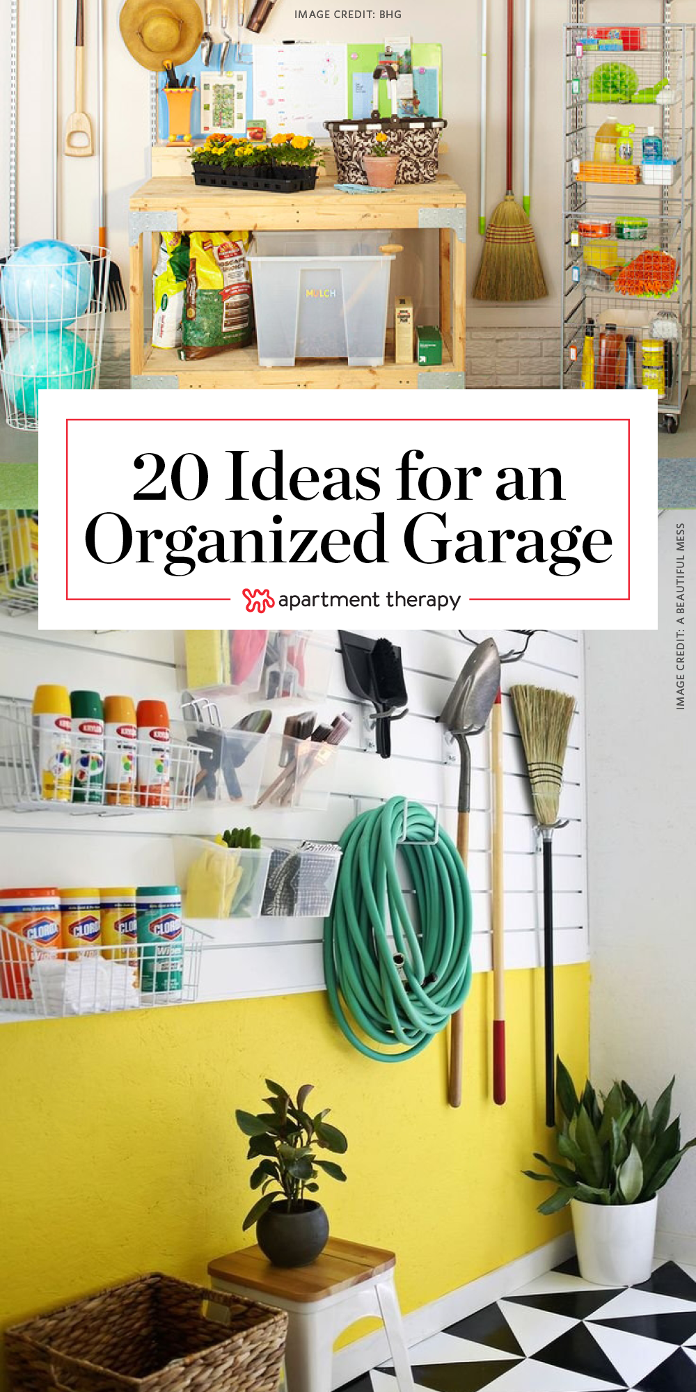 20 clever ideas for a super organized garage garage on clever garage organization ideas id=93917