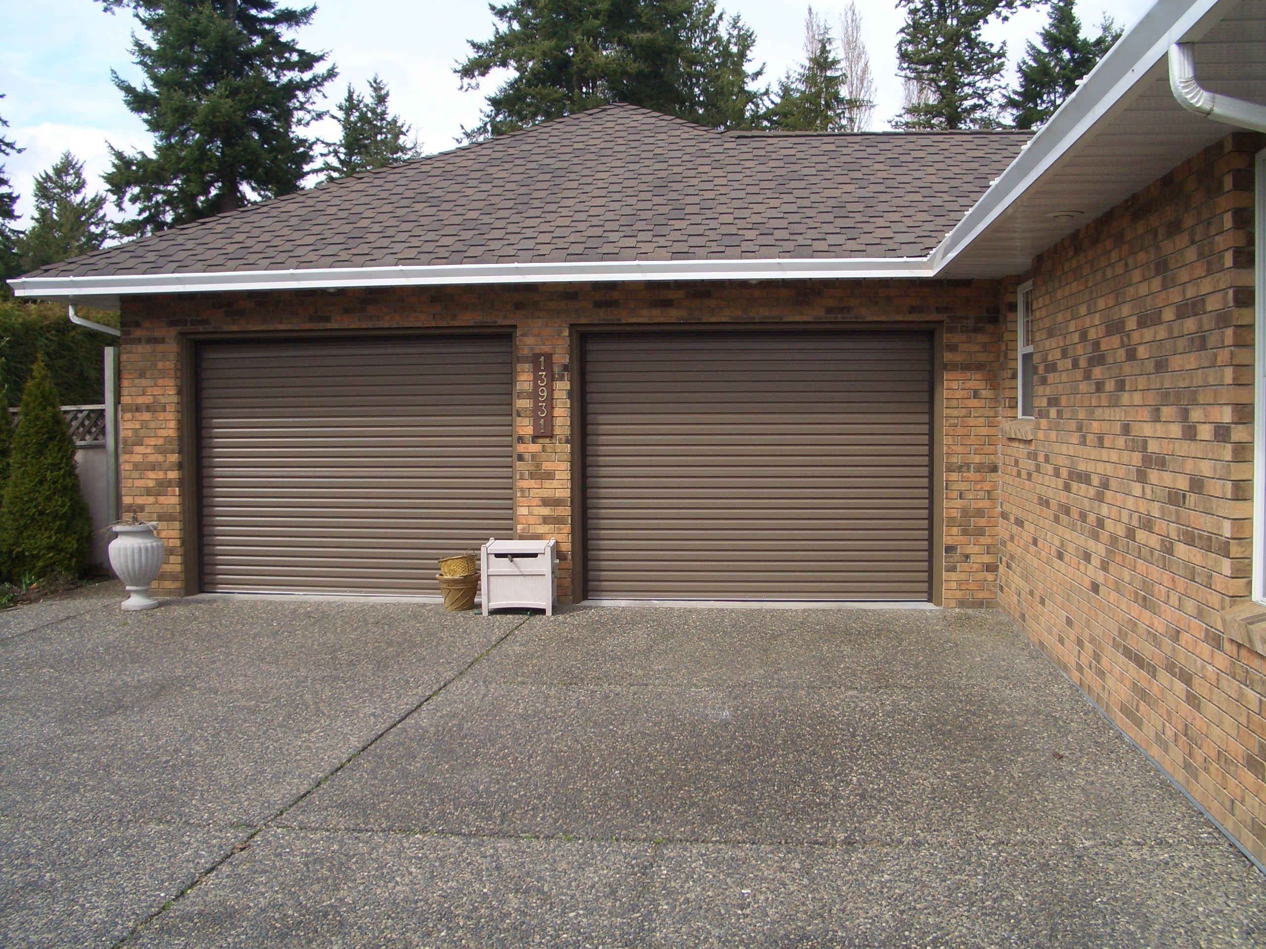 Durable Metal Rollup Garage Door #garagedoor