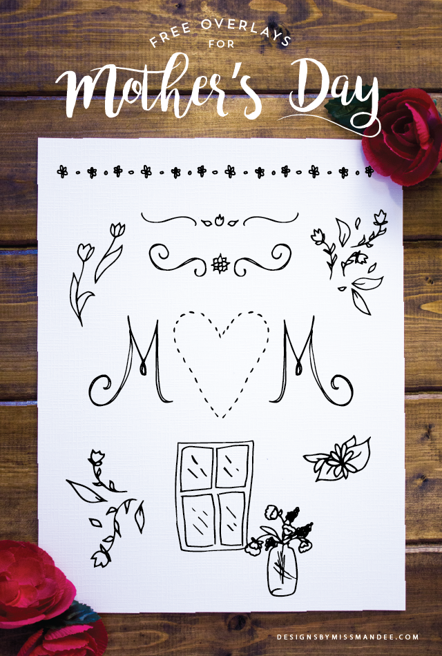 Mother\'s Day Overlays