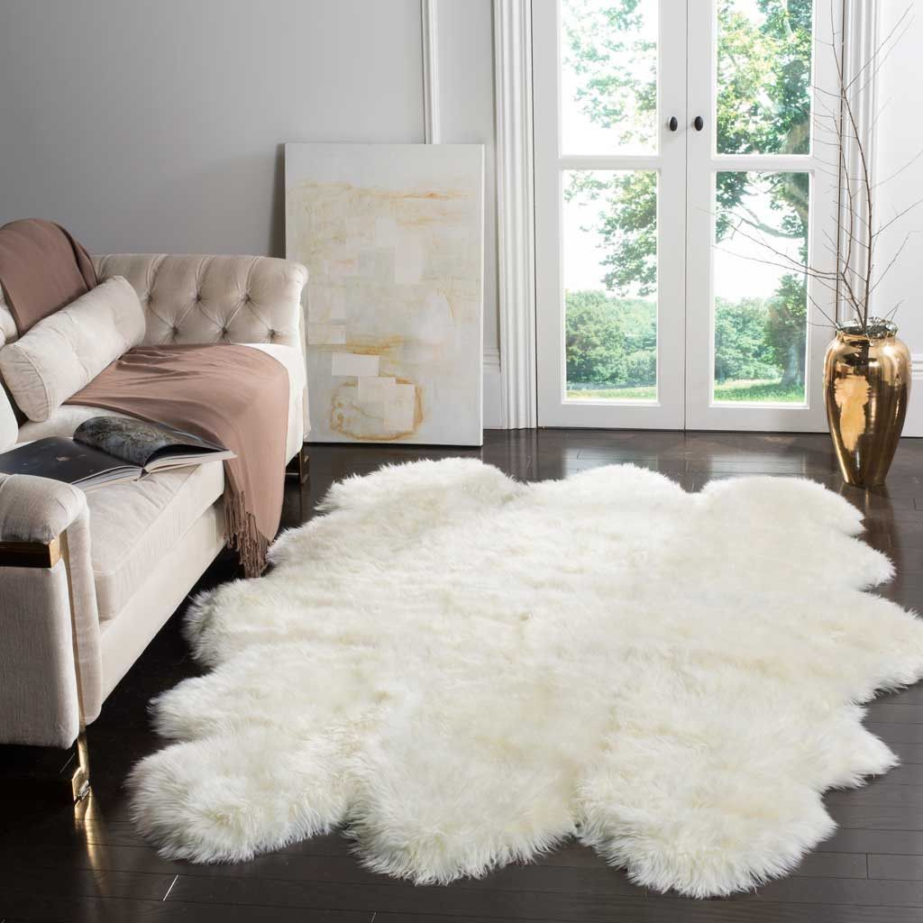 Sheepskin Rug Look: Natural Sheepskin Rugs Are Much More Than Deliciously Soft