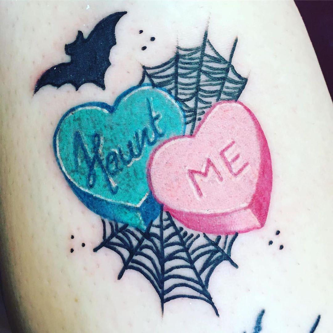 Pin On Halloween Tattoos