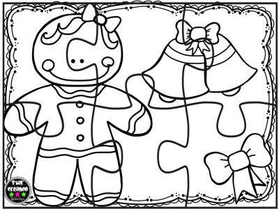 Puzzles navidad para colorear (8) navidad Pinterest Colorear - navidad para colorear