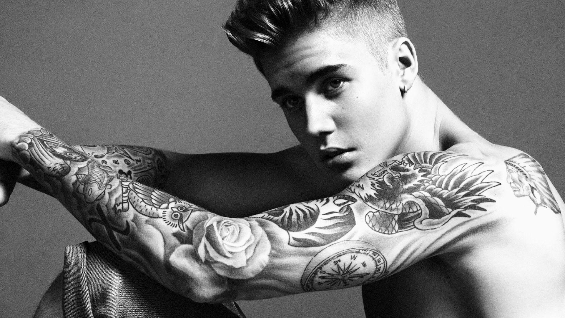 Justin Bieber all tatt...