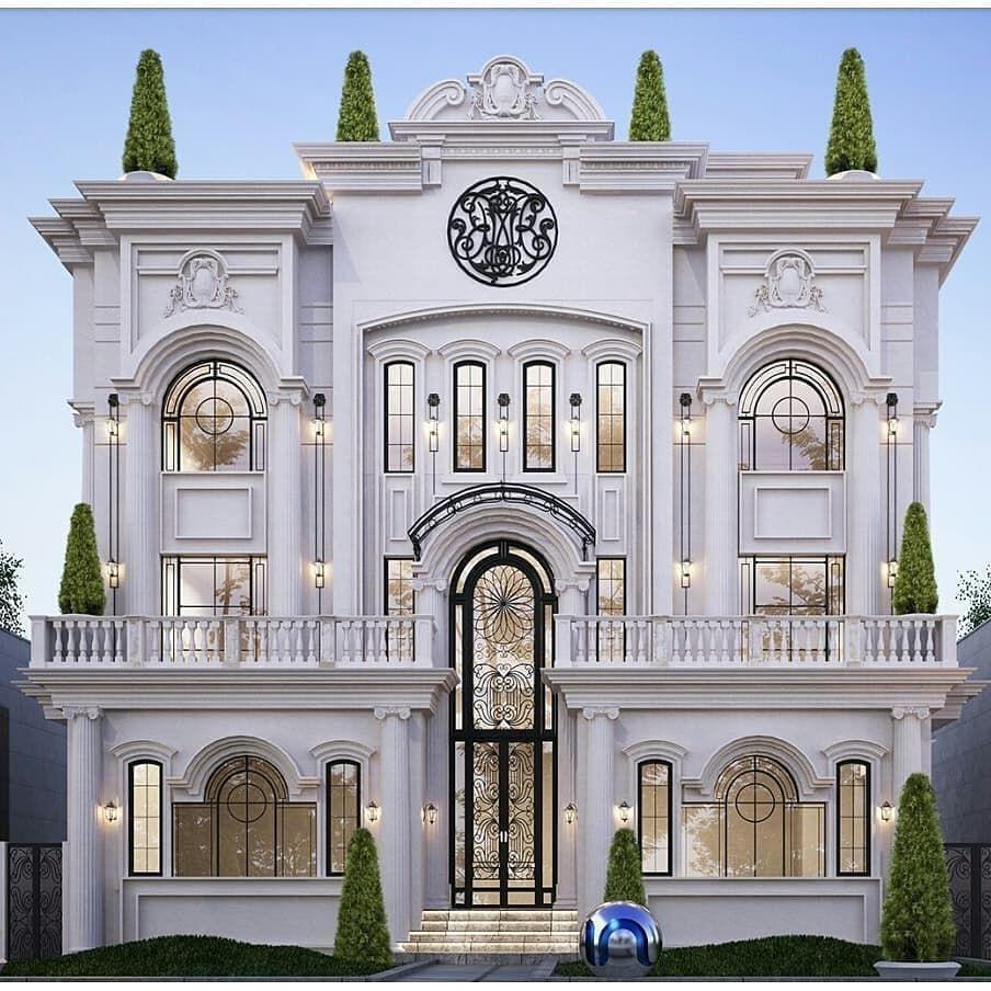 Svitlina Instagram Vid Koristuvacha Luxury Life Real Estate 18 Listopad 2018 R O 6 48 Classic House Exterior Classic House Design House Designs Exterior