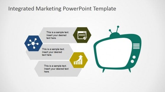 integrated marketing communications powerpoint template, Modern powerpoint