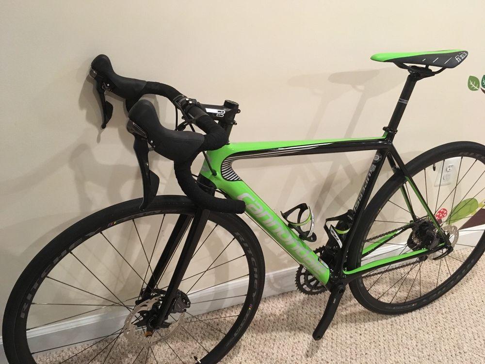 c0c031367c2 2017 Cannondale SuperSix EVO Hi-MOD Disc Ultegra, Carbon Road Bike 50cm  (Mint) #roadbike