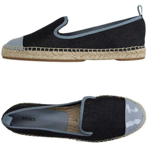 Fendi Espadrilles (690 BRL) ❤ liked on Polyvore featuring shoes, sandals, black, leather espadrilles, black espadrilles, leather espadrille sandals, black leather shoes and fendi shoes