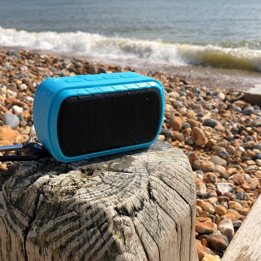 Oops! Dropped the Groove on the Move Speaker in the sea! But