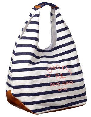 adcebe57c Sac marinière Pepe Jeans   BAGS GALORE   Fashion, Cotton bag e Bags