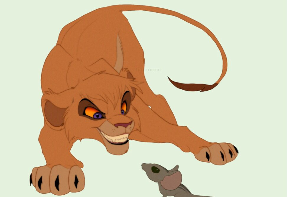 Cute Vitani In The Lion King 2 3