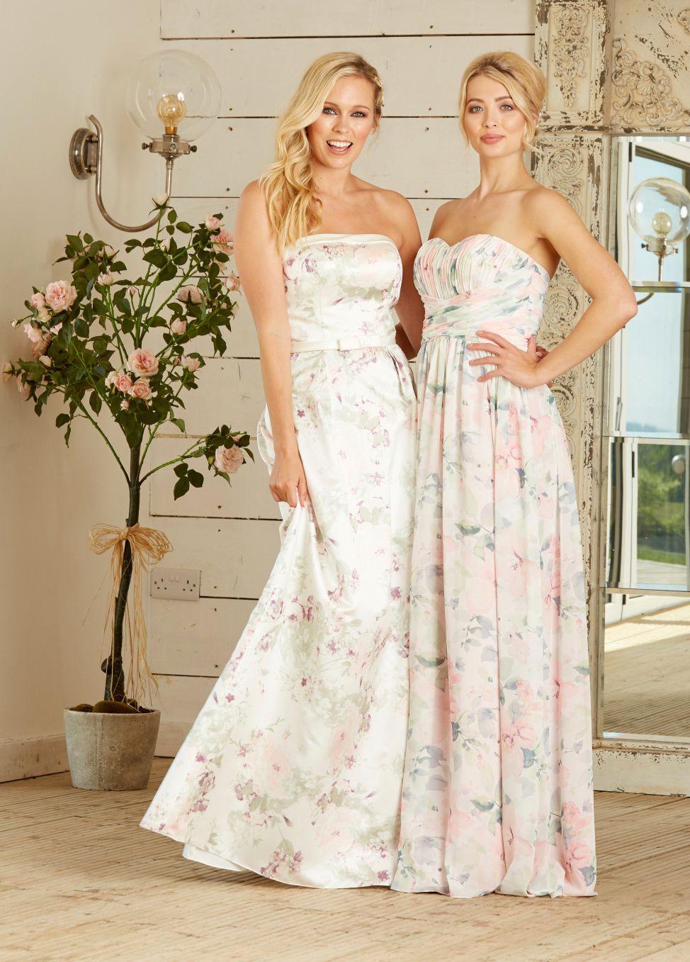 Amanda Wyatt Fl Bridesmaids Dresses Style 2297 And 2298