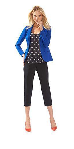 5464da3d14e Top 25 ideas about Black Capri Outfits on Pinterest