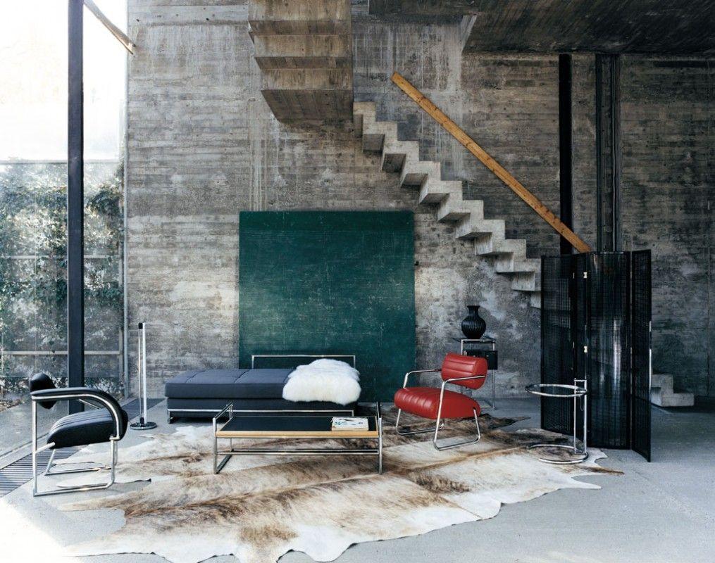 Des icônes du design dans son intérieur | Industrial interior ...