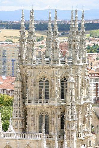 Burgos Katedrális kívülről