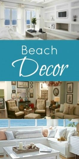 Beached themed living room decor home decor living - Beach theme decor for living room ...