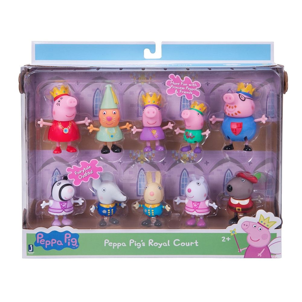 Baby Badewanne Toys R Us Peppa Pig Royal Court 10pk Everest Wholesale Toys