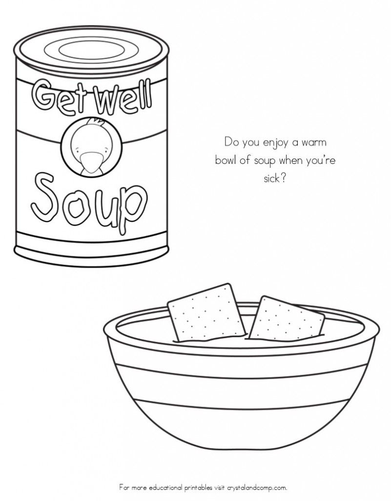 No More Spreading Germs Coloring Pages For Kids Coloring For Kids Color Sick Kids