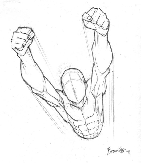 90 Mins Flying Torso By Bambs79 On Deviantart Drawing Superheroes Sketches Drawings