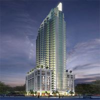 The Element Condo Building Is A 34 Story Highrise In Downtown Tampa Another Novare Group Development Very Close To Its Sister Project