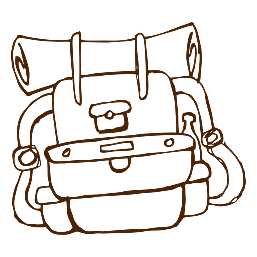 Hand Drawn Camping Backpack Icon Ad Aff Sponsored Drawn Icon Backpack Hand How To Draw Hands Camping Backpack Backpack Drawing